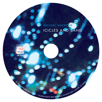 Icicles and Sand CD label